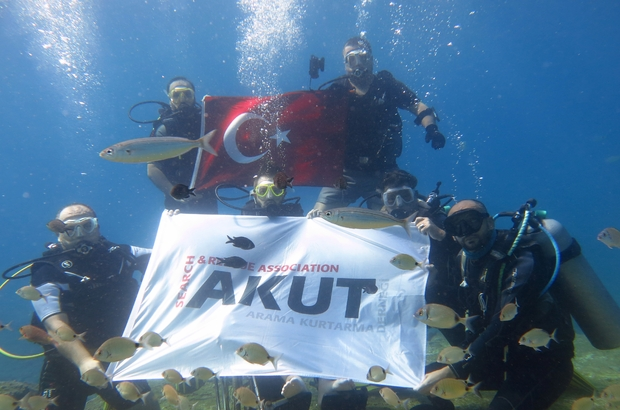 Alper Patır and the AKUT team