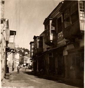 """Çarşı Caddesi"" before the earthquake"