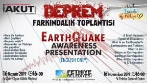 Earthquake Awareness Presentation Flyer