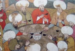 traditional yer sofrası